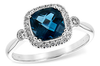 F226-28474: LDS RG 1.62 LONDON BLUE TOPAZ 1.78 TGW