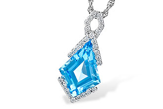F309-93001: NECK 2.40 BLUE TOPAZ 2.53 TGW