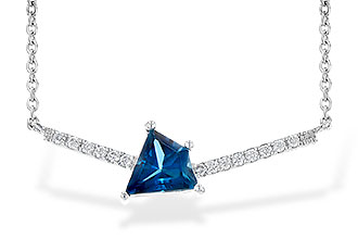 G227-24828: NECK .87 LONDON BLUE TOPAZ .95 TGW