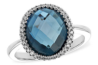 A226-29374: LDS RG 5.31 LONDON BLUE TOPAZ 5.45 TGW