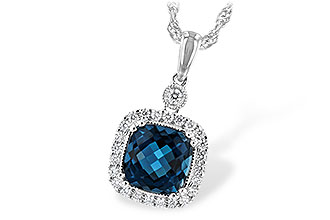 C226-28456: NECK 1.63 LONDON BLUE TOPAZ 1.80 TGW