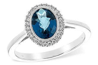 D226-28474: LDS RG 1.27 LONDON BLUE TOPAZ 1.42 TGW